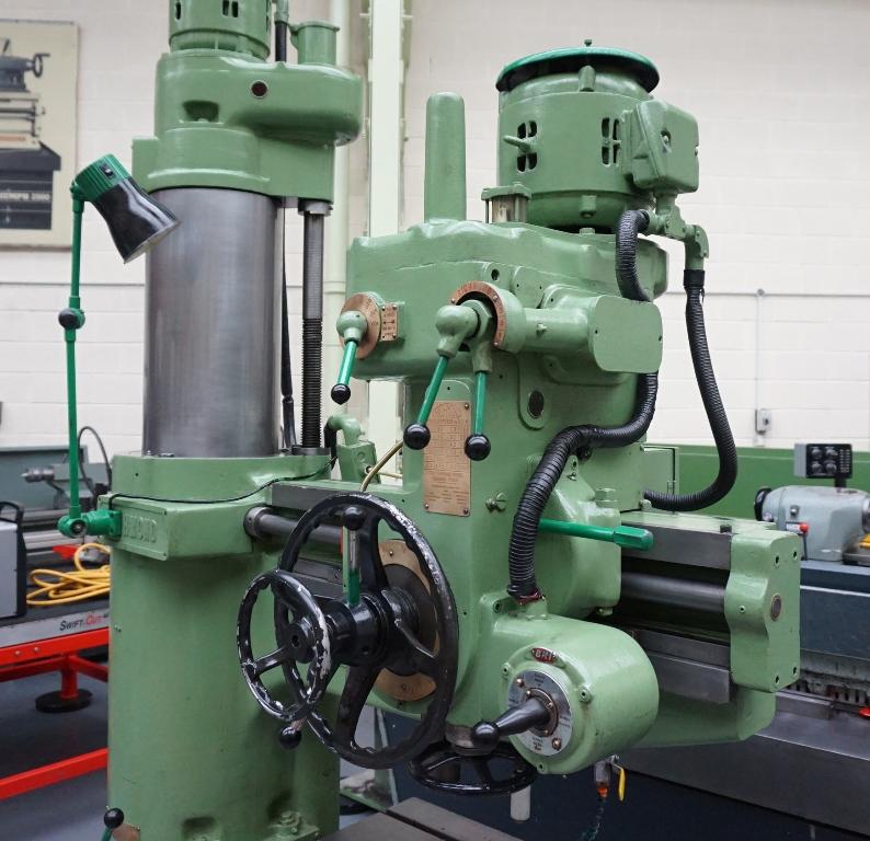 radial arm drilling machine pdf