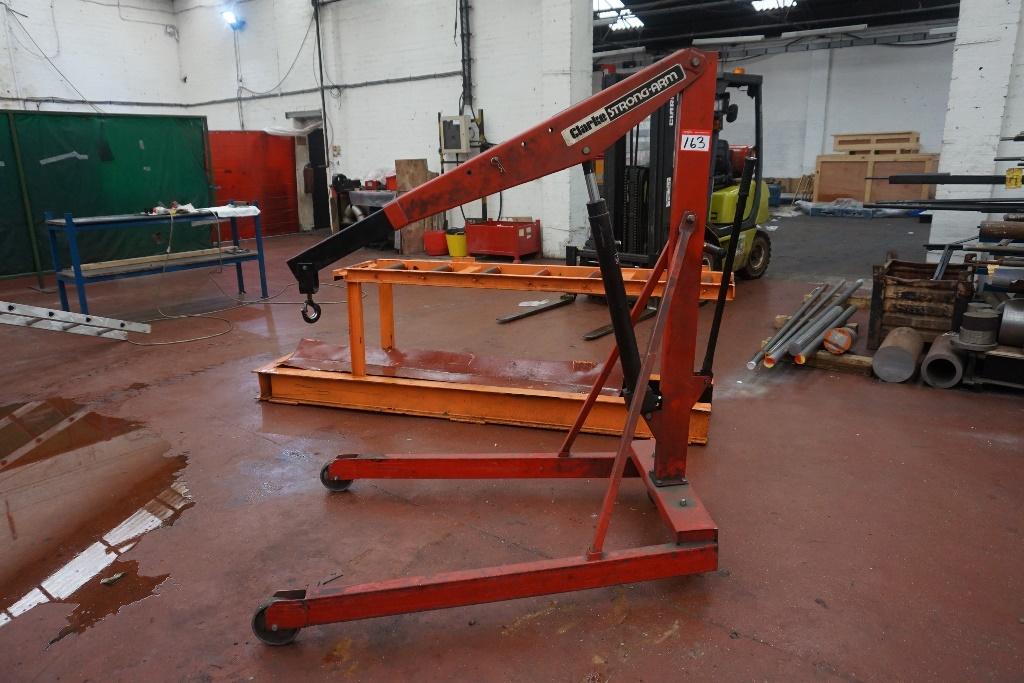 Engine Lift Arms : Clarke chc sa strong arm engine hoist