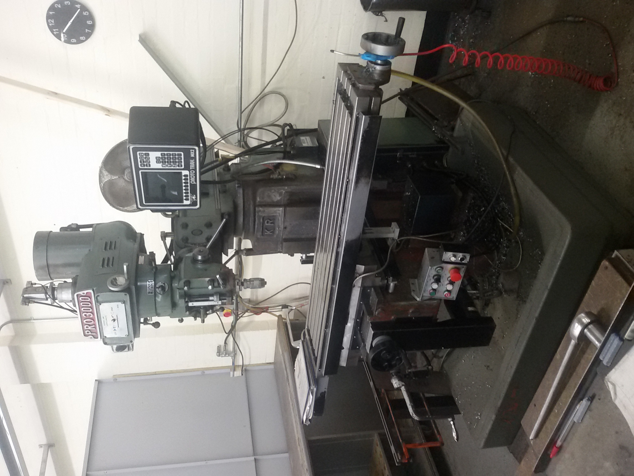 Xyz Pro 3000 2 Axis Cnc Milling Machine Electrical Wiring X Y Z Preview Image