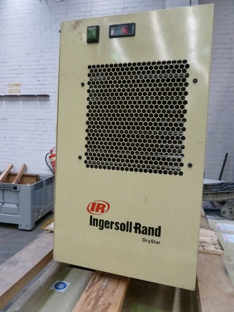 Ingersoll Rand Model Ssr Up5 18 7 Rotary Screw Air Compressor