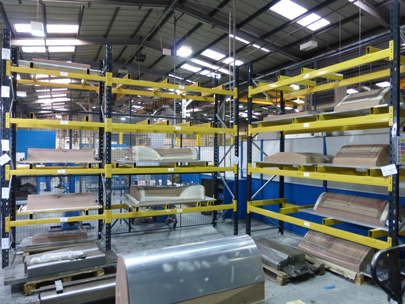 3 Bays Boltless Pallet Racking