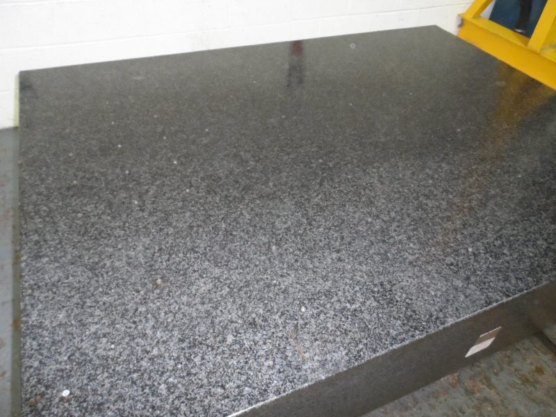 Granite surface table 72 x 54 x 12 thick for 2 thick granite