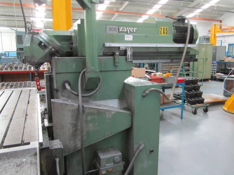 Zayer 66 BM Ram Type Universal Head Milling Machine