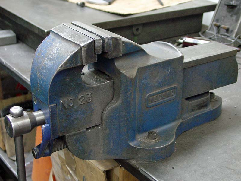 Record No 23 Quick Release Bench Vice 4 188 Jaws