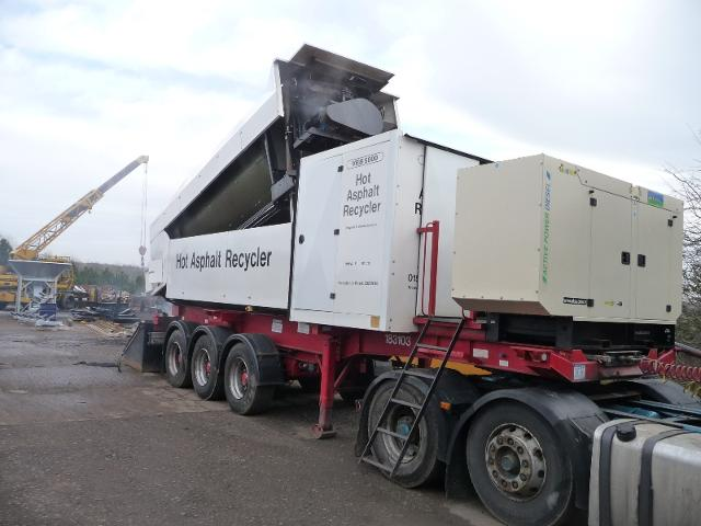 Rsl mobile asphalt recycling plant - Recycling mobel ...