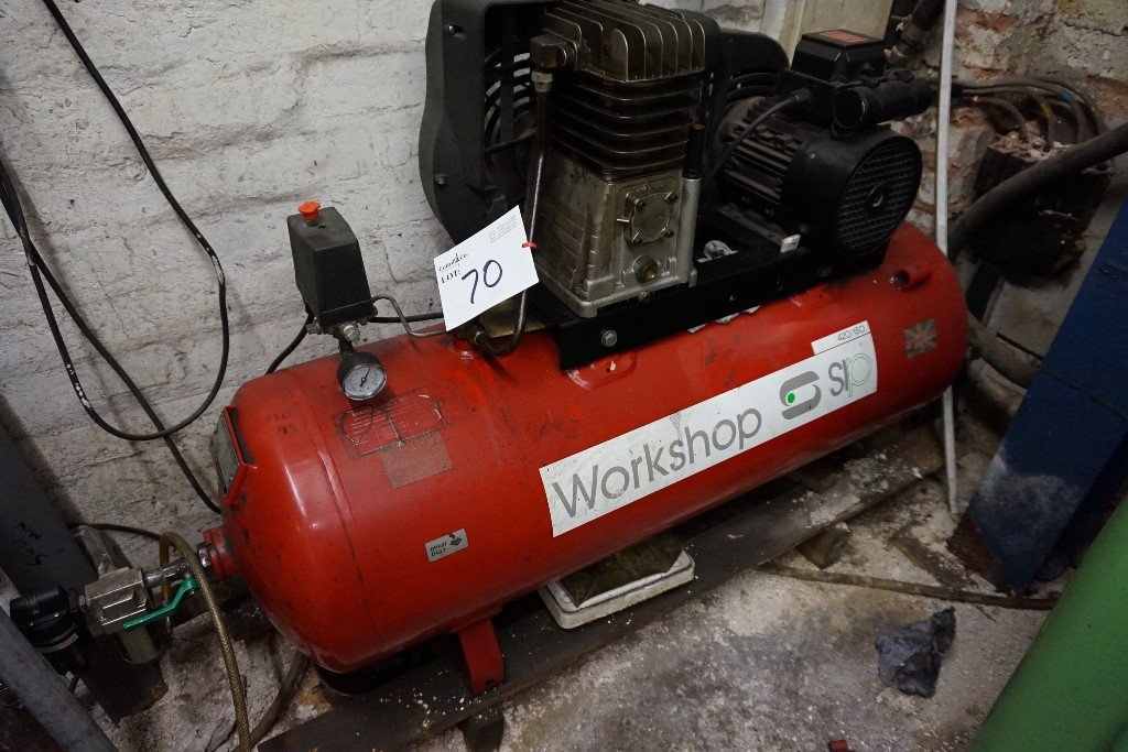 Sip Workshop Type 420 150 Air Compressor