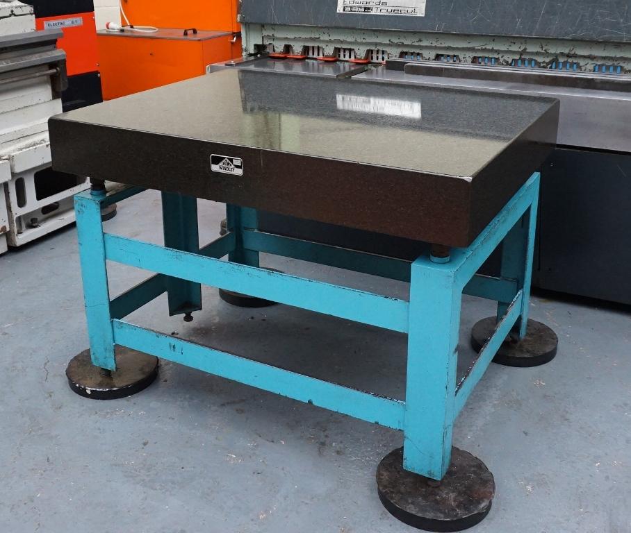 crown windley granite surface table. Black Bedroom Furniture Sets. Home Design Ideas