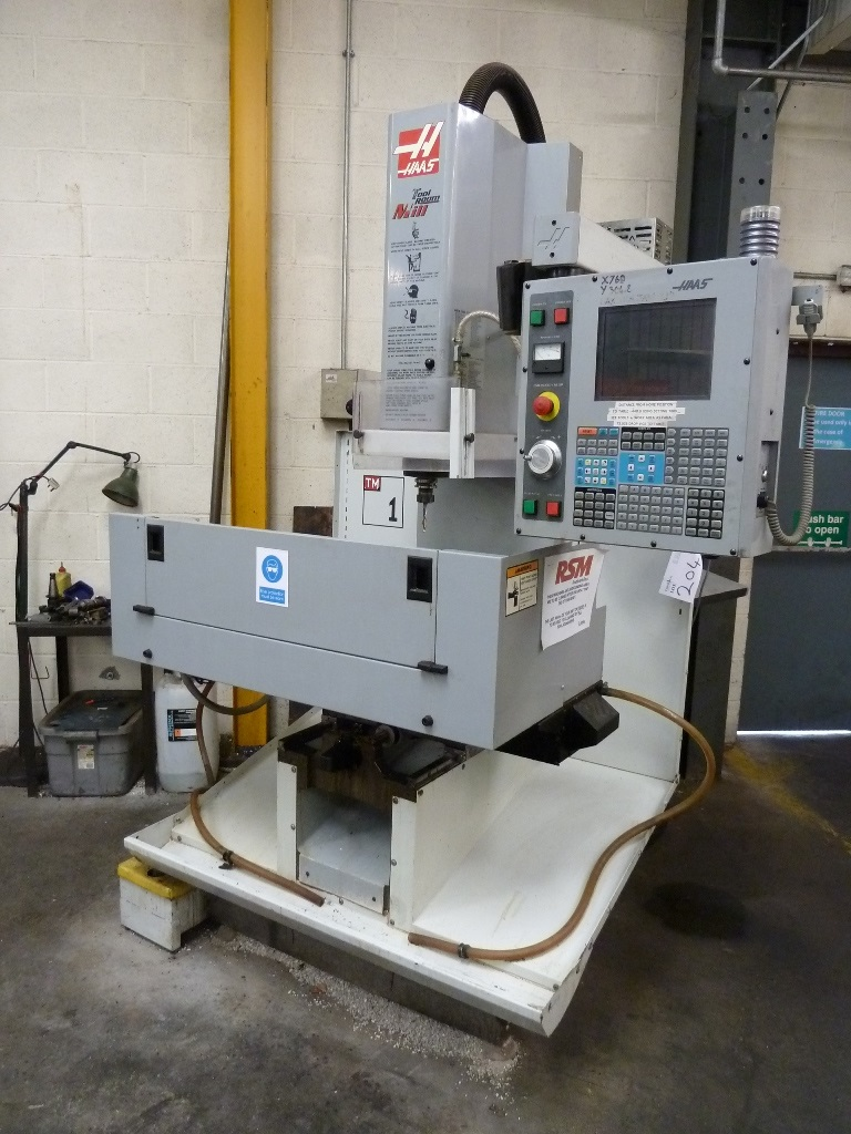Haas TM-1CE Toolroom Mill with Haas CNC Control