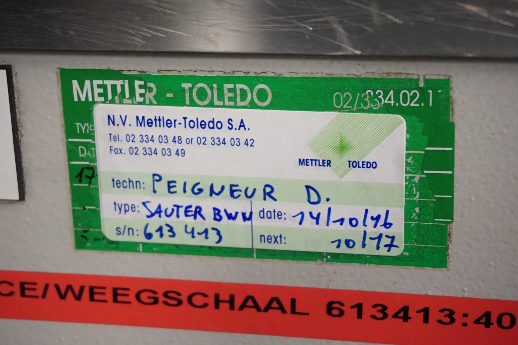 Mettler Toledo Sauter BWN Analog Scales