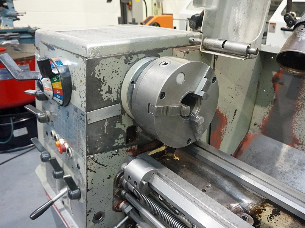 how to use a centre lathe
