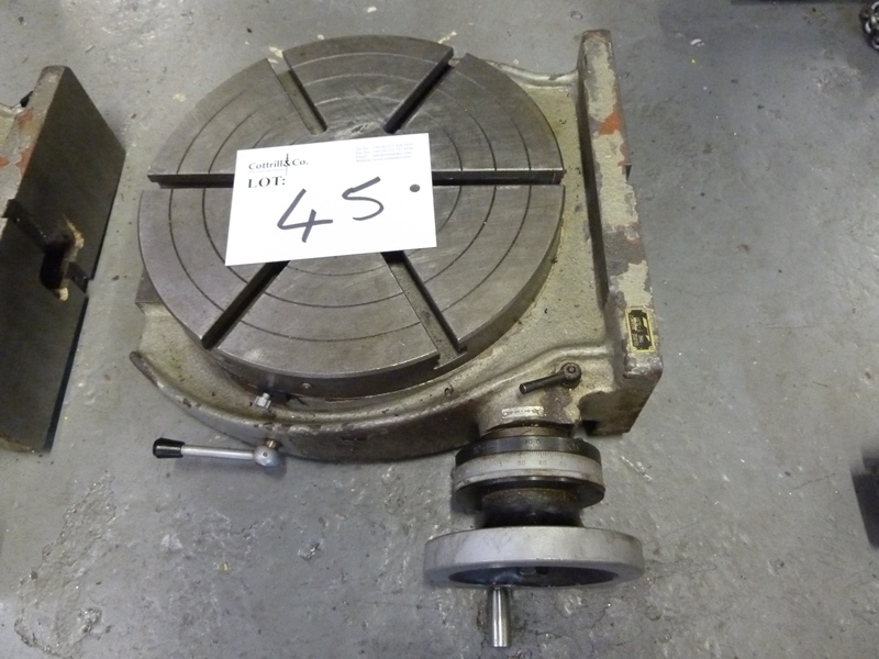 12 39 39 rotary table for 12 rotary table