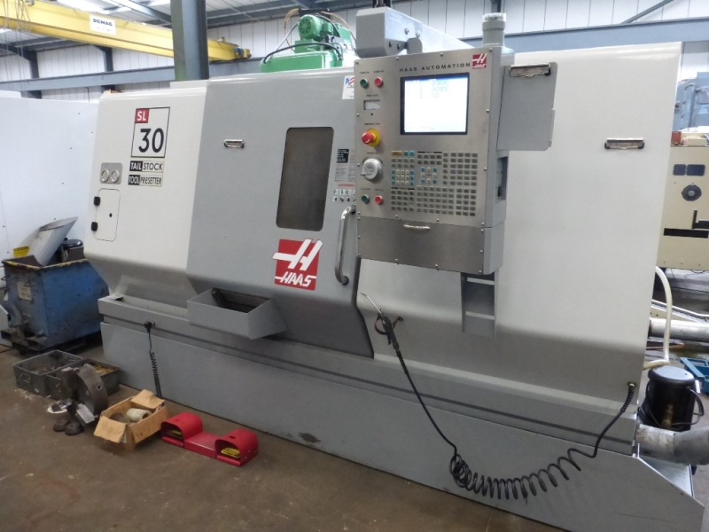 Haas SL-30 TCE CNC Lathe with Haas Control