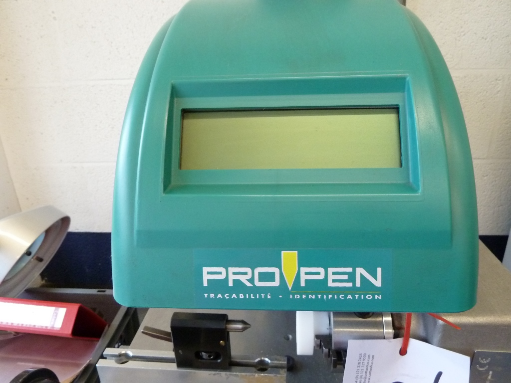 pro pen marking machine
