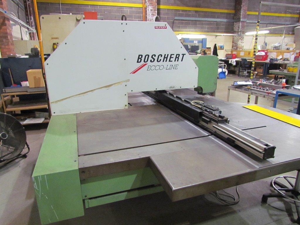 Wählen Sie für neueste bieten viel großer Rabatt Boschert Model Ecco Line, 750 CNC Z Single Head Punching Machine