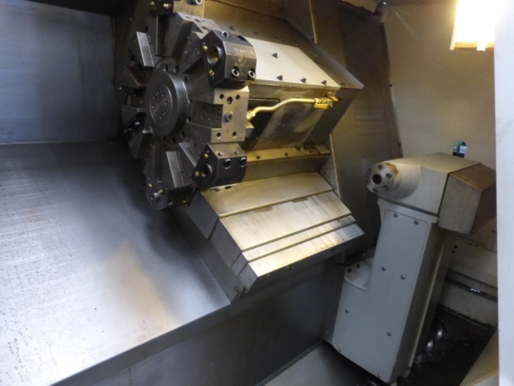 Haas Sl 30 Tce Cnc Lathe With Control Wiring Diagram Preview Image