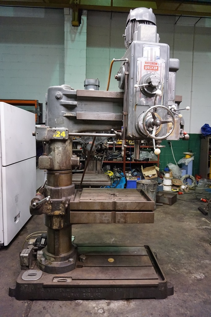 Kitchen Walker Model T 2 40 Radial Arm Drill