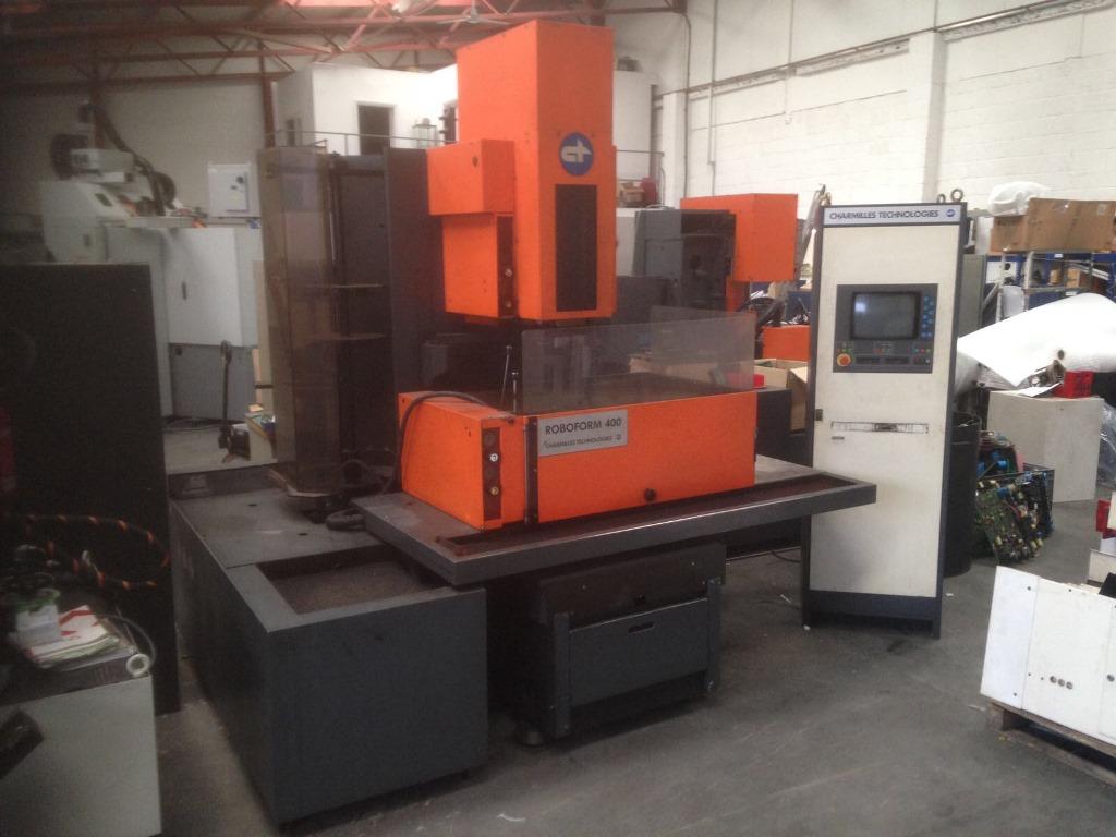 charmilles roboform 400 cnc edm 4 axis machine with charmilles control rh  cottandco com Charmilles EDM Original Parts Sinker EDM