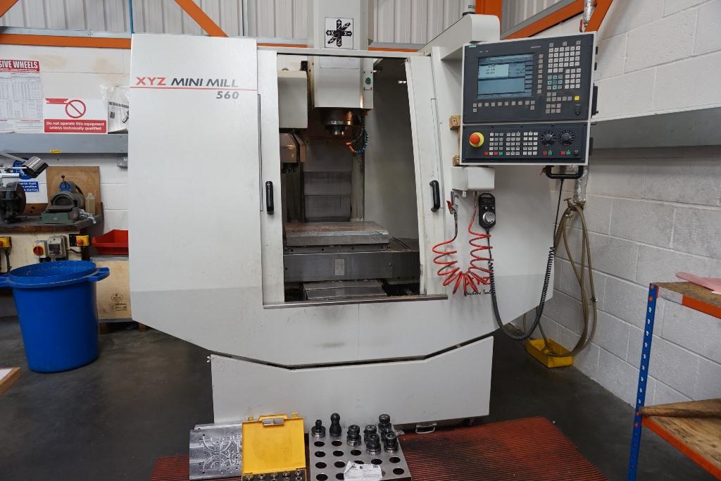 XYZ Mini Mill 560 CNC Vertical Machining Centre with Siemens