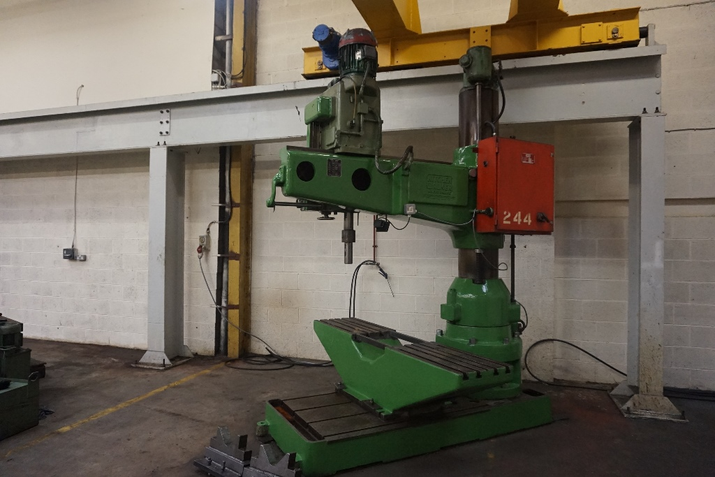 Kitchen Walker Model 50 E3 5ft Radial Arm Drill