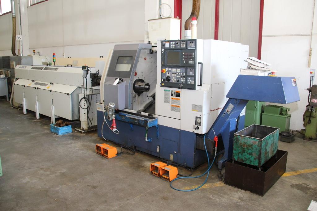 Mori Seiki Sl-200 SMC CNC Lathe