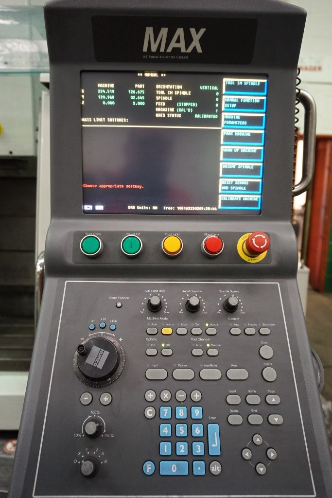 Hurco VM1 Vertical Machining Centre with Max Control