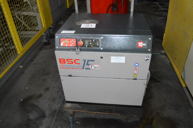 Air Dryer For Air Compressor >> Fini BSC Revolution 15 Compressor, Fini Type Rotar 10C10 Compressor, Friulair Type DEF 31AC ...