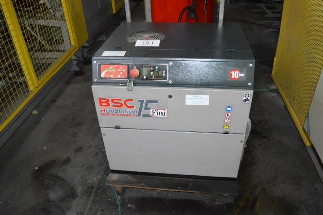 Fini Bsc Revolution 15 Compressor Fini Type Rotar 10c10