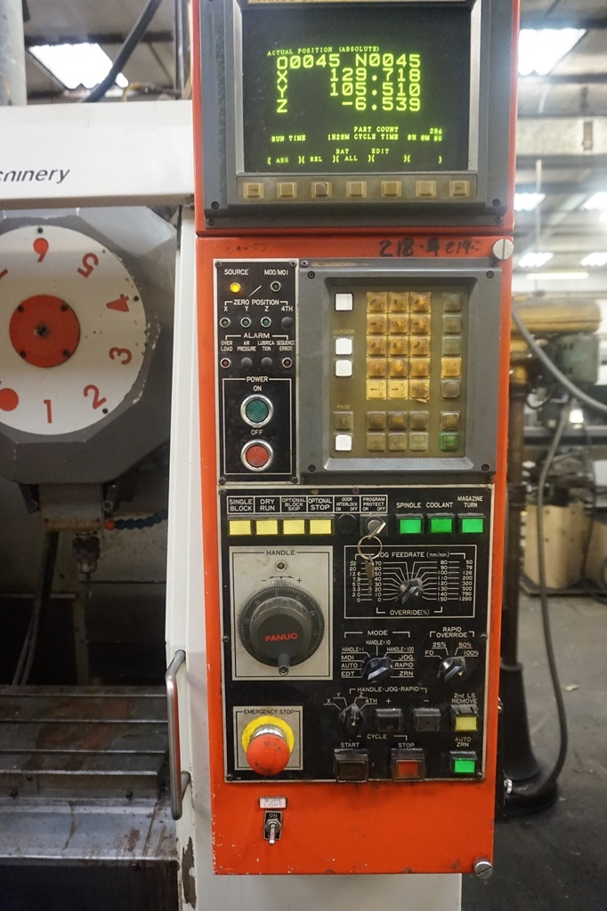 Kira VTC 30 Turret Drill Mill Centre with Fanuc O Mate M Control