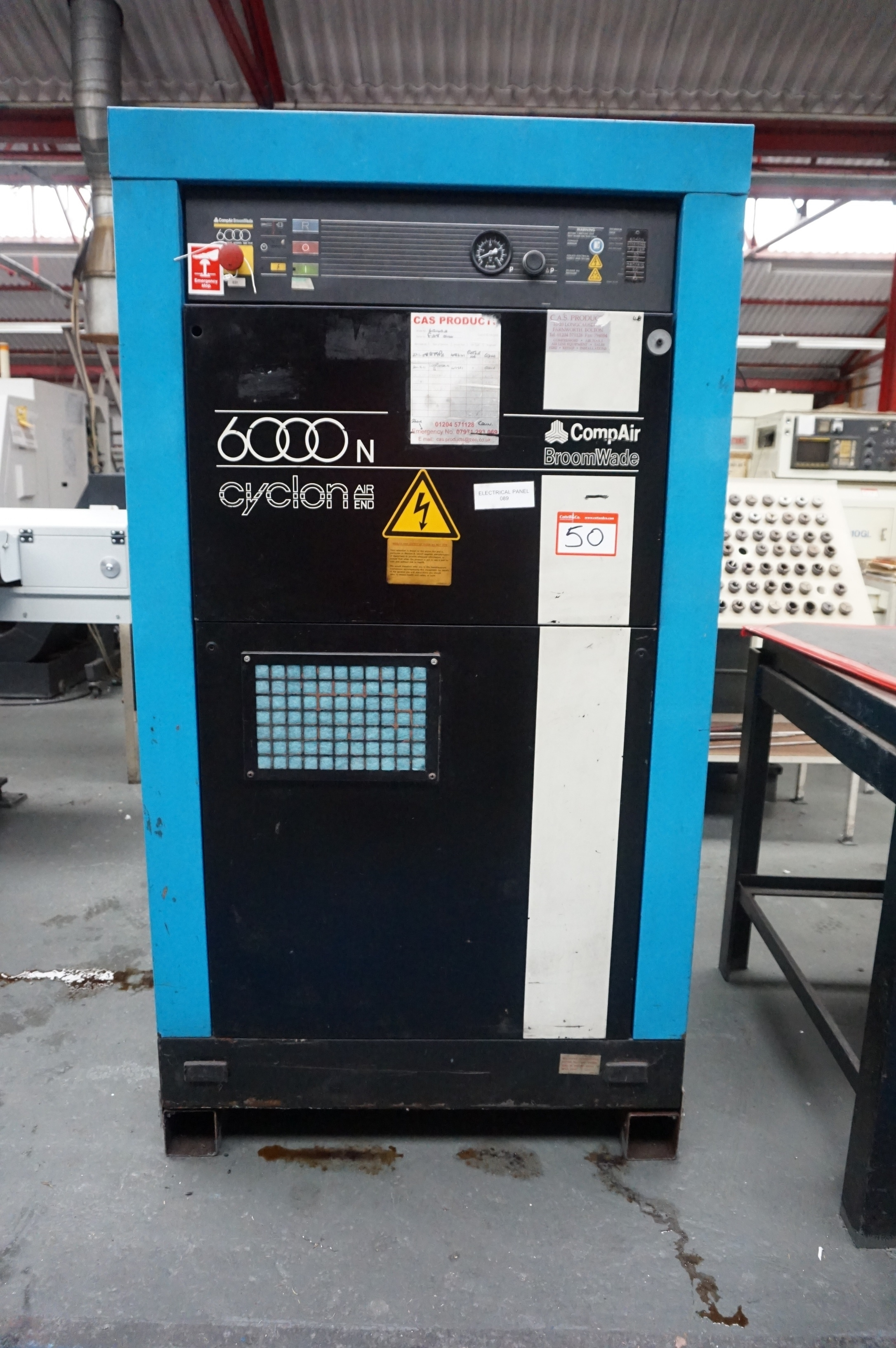 Item description. Compair 6040N Broomwade 6000N Cyclon ...