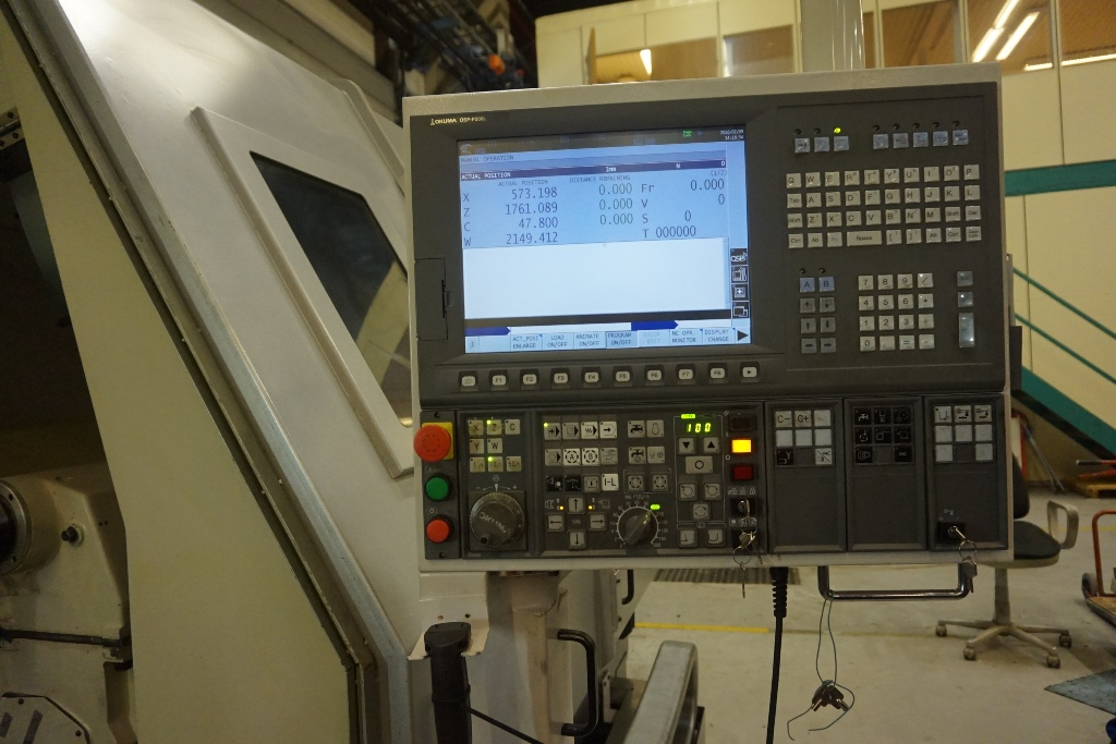 Okuma LB 45 II M Heavy Duty 3 Axis CNC Lathe