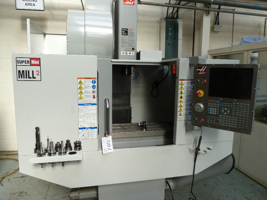 Haas Minimill Vertical Machining Centre with Haas CNC Control