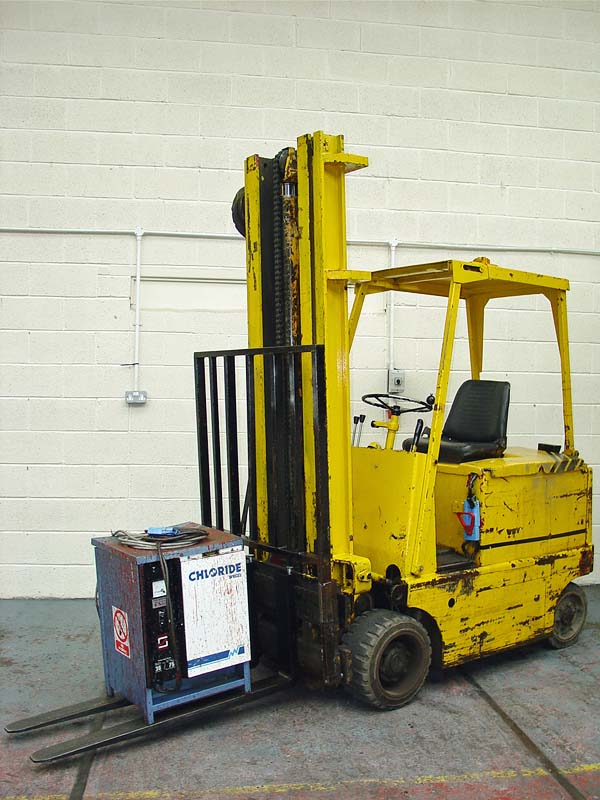 coventry climax type 50 ec 1159 electric fork lift truck. Black Bedroom Furniture Sets. Home Design Ideas
