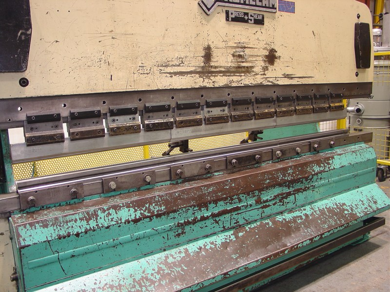 Promecam Press & Shear Model RG-103 Hydraulic Upstroking Press Brake