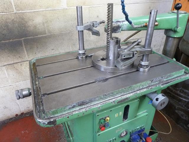Lunn Davis Automatic Keyseater With Qty Key Seating