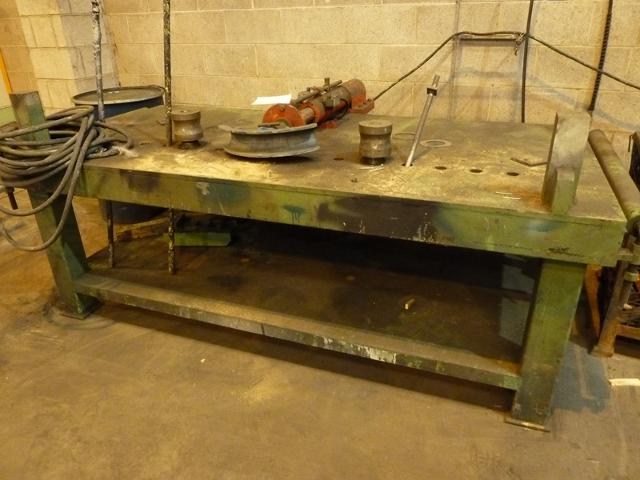 Hydraulic Table Mounted Pipe Bender With Formers Amp Bench