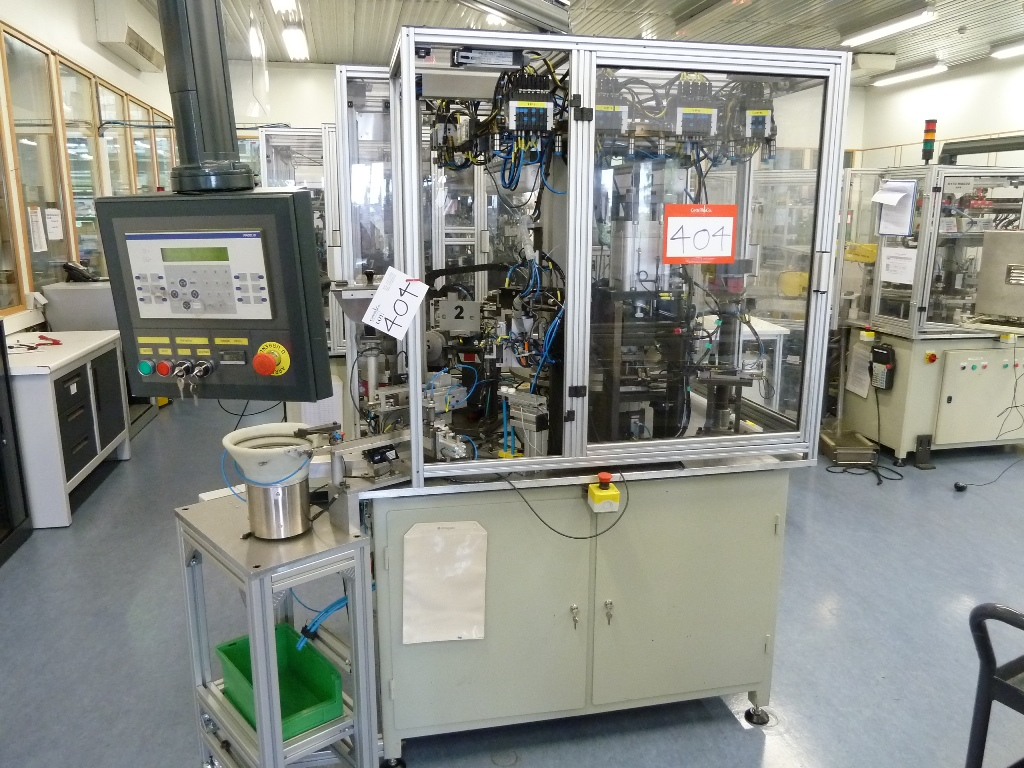 Ar Technic Rotary Assembly Machine With 6 Station Rotary