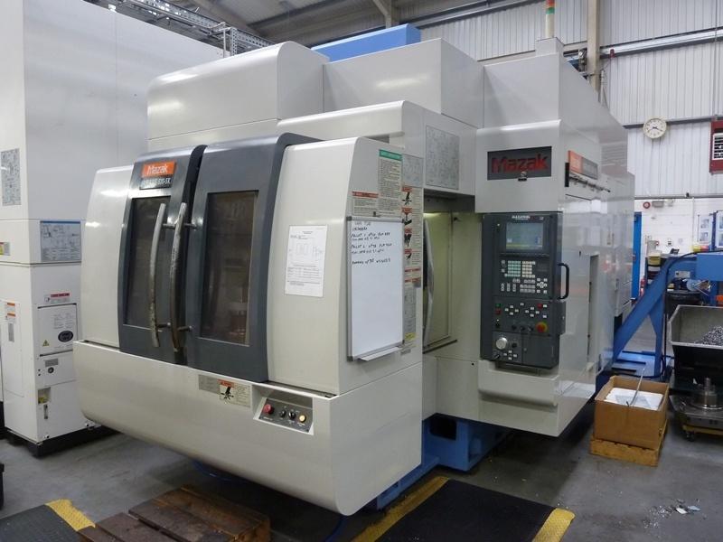 Mazak Variaxis 630-5X Simultaneous 5-Axis Twin Pallet