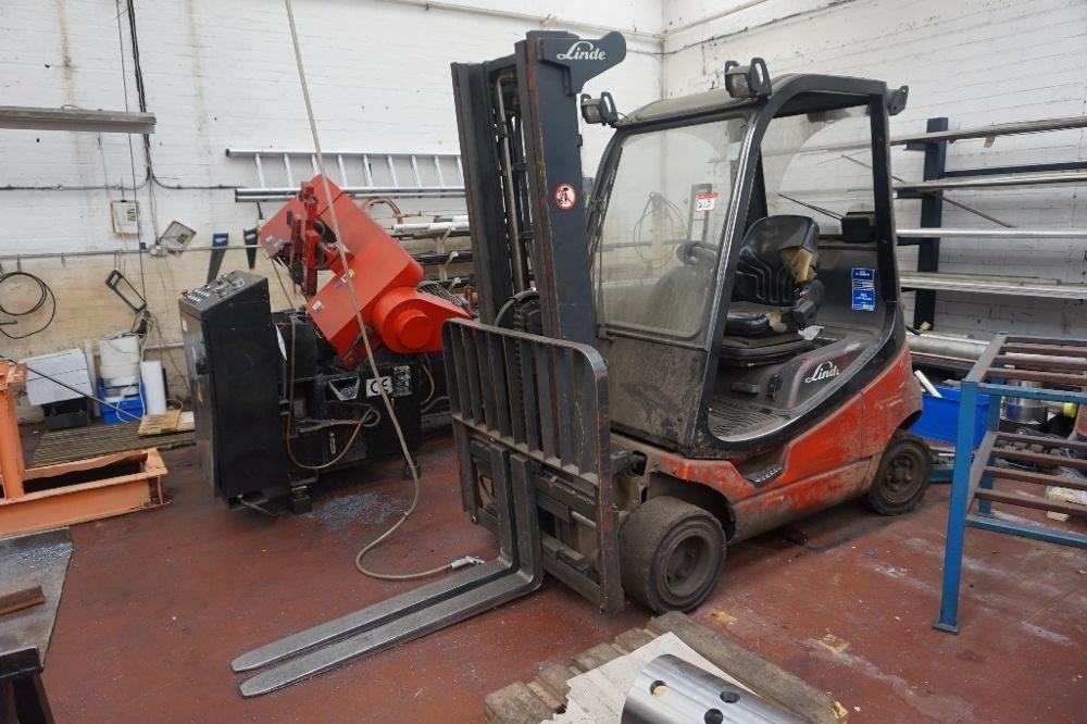 lindt gas fork lift truck h2ot