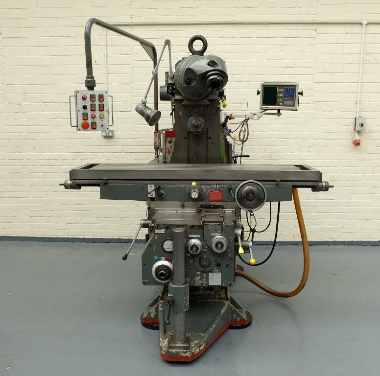 Ajax AJRH 1800 Overhead Ram Type Universal Milling Machine