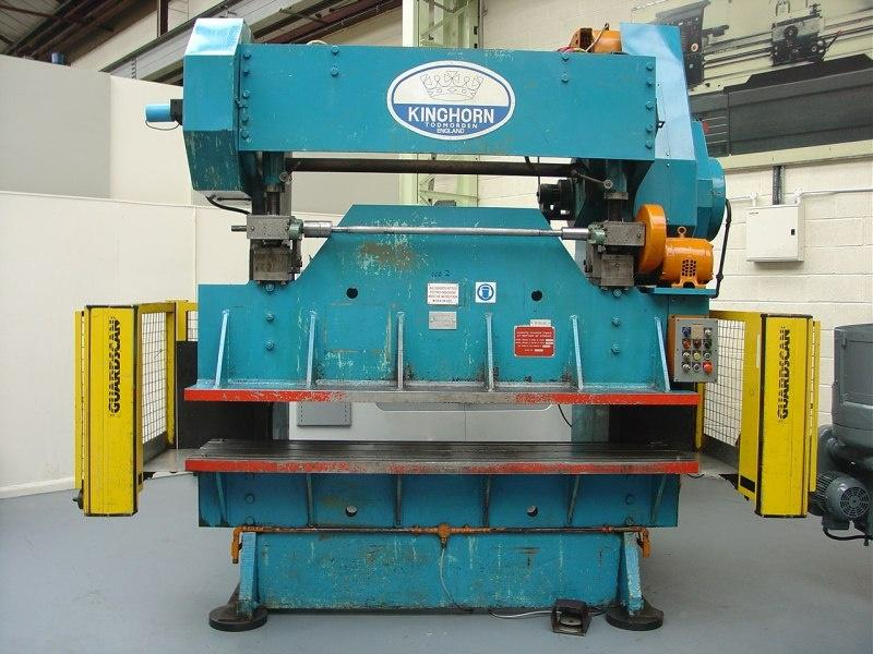 Kinghorn 120-Ton Mechanical Punching Press