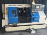 Nakamura-Tome TW-10 6-Axis Twin Turret CNC Lathe