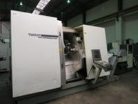 Gildemeister Twin 65 CNC Lathe with Sinumerik 840D Powerline Control including Tooling